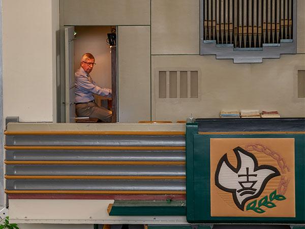 DGA Ibach orgel organist Ruud Kooning