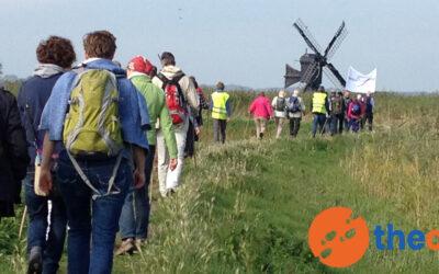 Klimaatlopen richting Glasgow Klimaatconferentie. Loop mee!